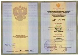 Диплом ИАТЭ_Малина